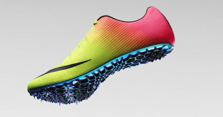 Nike's new Olympic track spikes feature 3-D printed technology!