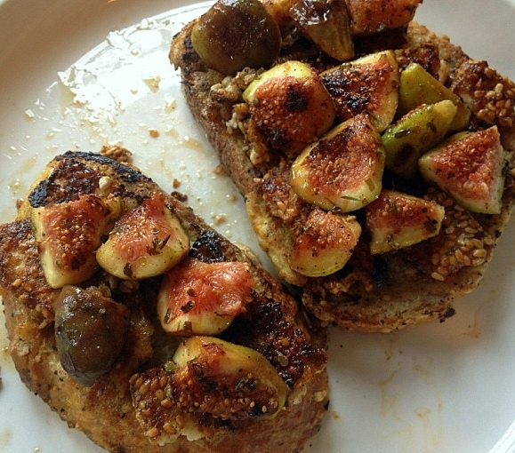sesame-crusted feta and fig sandwiches. | savory (favorites) | Pinter ...