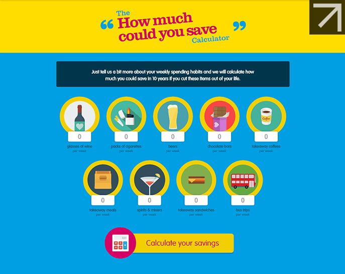 Click to use SunLife' savings calculator http://www.sunlifedirect.co.uk/infographics/savings-calculator/