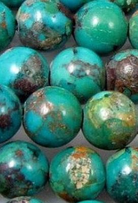 Turquoise Beads, my favorite color and stone, besides diamonds of course!