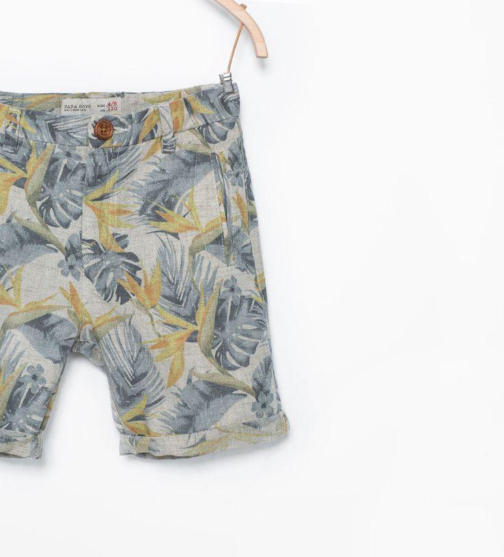 korte broek Zara jongens ss 15