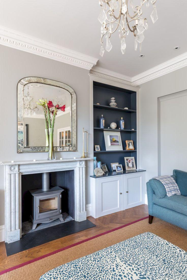 Rustikale esszimmerbeleuchtung ideen  atemberaubende wohnzimmer kamine design ideen mit holz