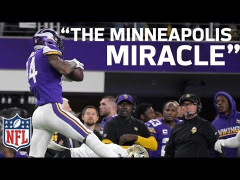 Home Radio Broadcasters Freak Out on Stefon Diggs Walk-Off Minneapolis Miracle TD! | NFL Highlights - YouTube