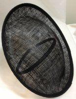 Oval Moulded Base on headband - Black