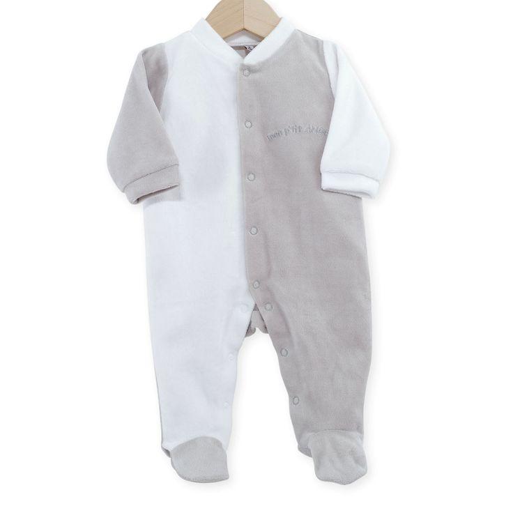 Pyjama naissance Mon Ptit Ange #Pyjama #naissance #leskinousses