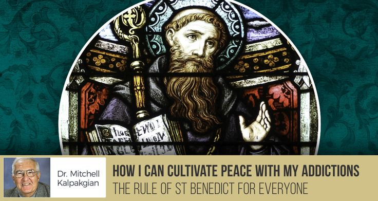 How I can Cultivate Peace with My Addictions - The Rule of St Benedict for Everyone - From 'The Rule of St Benedict for Everyone' series, Dr Kalpakgian looks at how our addictions and passions hold us back from peace, and how we can find it.