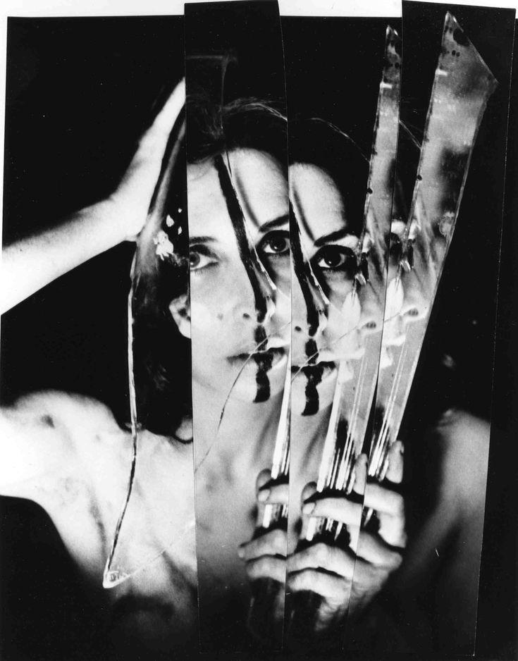 "Carolee Schneemann, from ""Eye Body: 36 Transformative Actions"", 1963/2005 Gelatin silver print, 24 x 20 inches Photography: Erro"