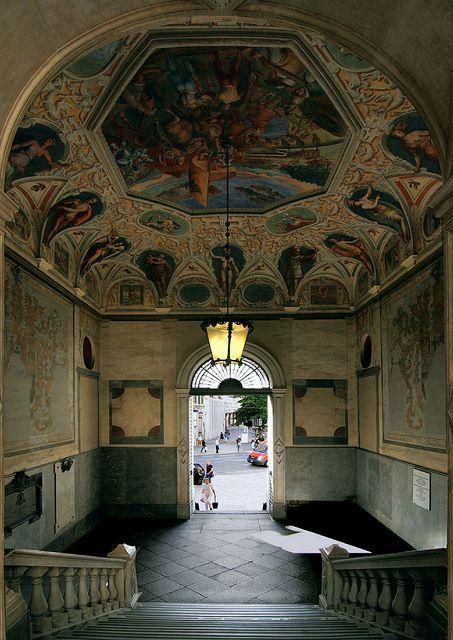 Palazzo Spinolla Sera.Genova.Italy