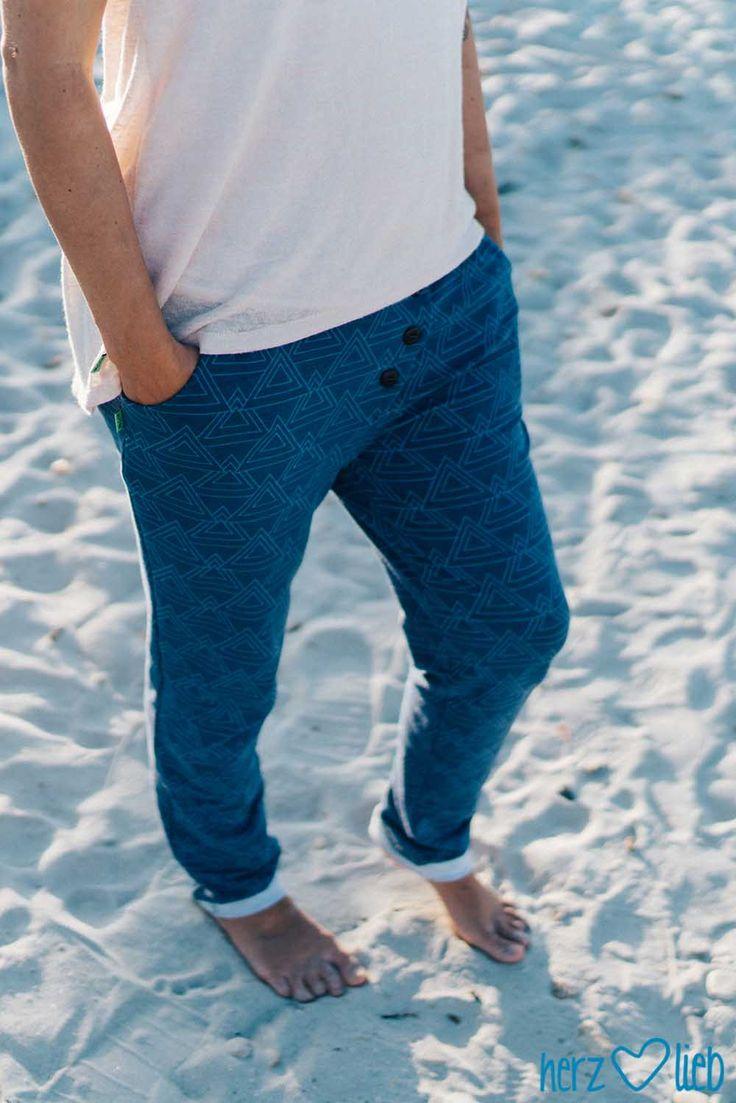 sommer-strand-gemütlich-hose | herz-lieb