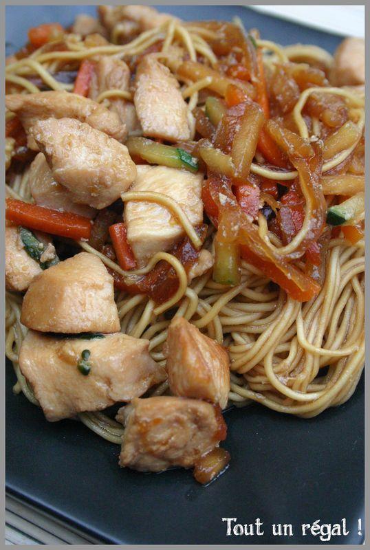Dès que je vais manger dans le petit restaurant vietnamien de la ville avec ma bande de copains, je prend toujours la même chose: du...