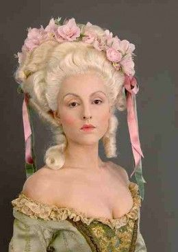 Pix For > 17th Century Makeup