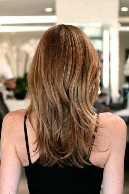 Subtle strawberry blonde highlights hairstyles pinterest