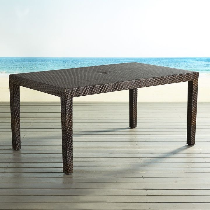 Pier Imports Ciudad Mocha Parsons Table Products - Pier 1 outdoor dining table