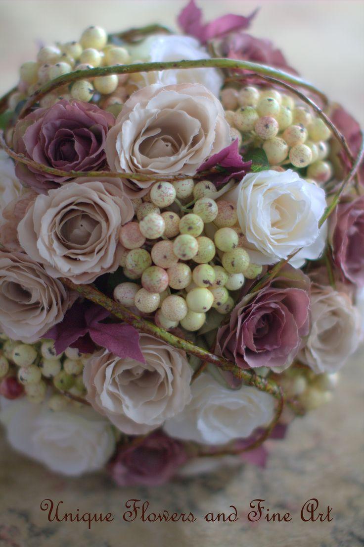 Silk Wedding Bouquets Perth Wa : Best images about my wedding flower work on
