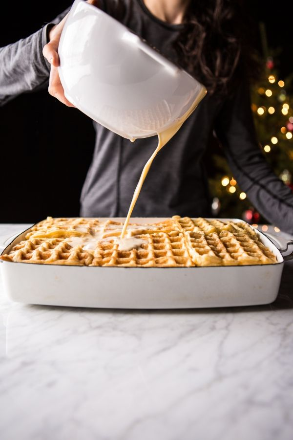 Monte Cristo Waffle Strata   halfbakedharvest.com @hbharvest