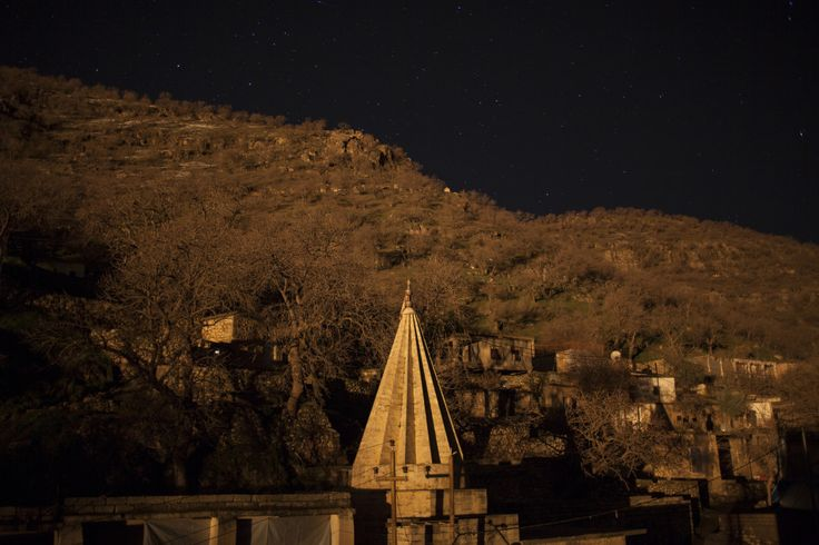 The Yezidi holy temple in Lalish