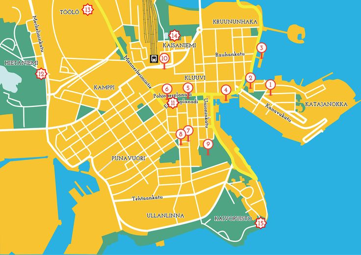 Discover Tove Jansson's life and art through this map of Helsinki.
