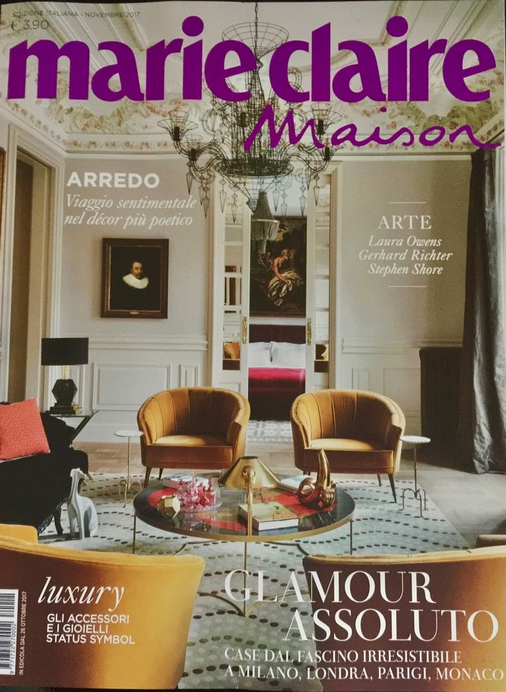 MARIECLAIRE MAISON - November 2017 - We are featured in it - Thank you @Bruno Tarsia!
