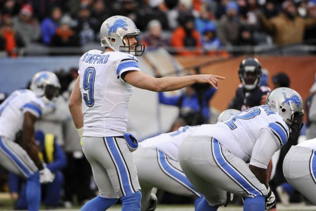 Lions notes: Matthew Stafford to carry burden of Calvin-less offense