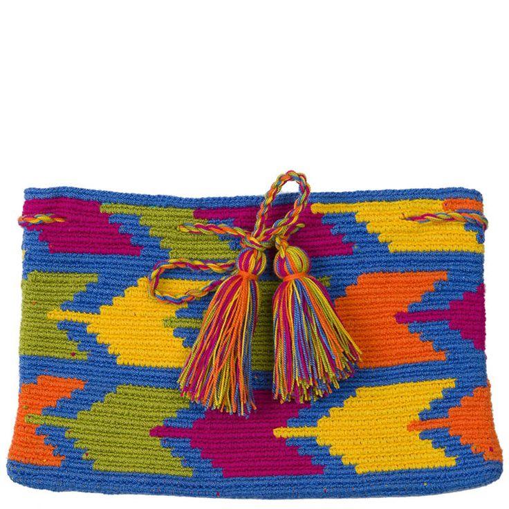 Wayuu Mochila bag clutch Inspiration Más