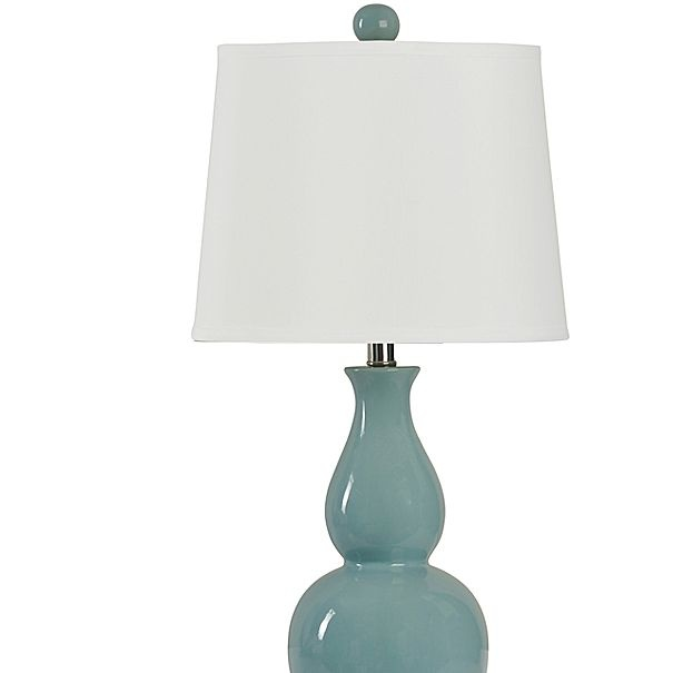 Great Double Gourd Ceramic Table Lamp   Jcpenney