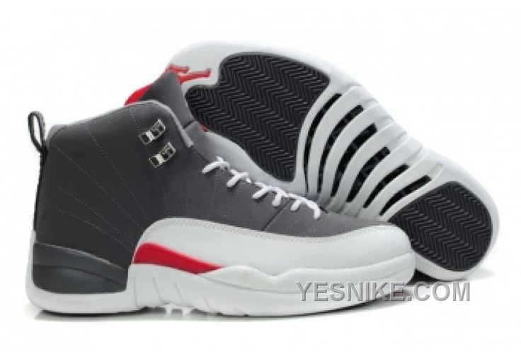 Discover the Air Jordan 12 Retro Nubuck Cool Grey Red Cheap To Buy  collection at Pumarihanna. Shop Air Jordan 12 Retro Nubuck Cool Grey Red  Cheap To Buy ...