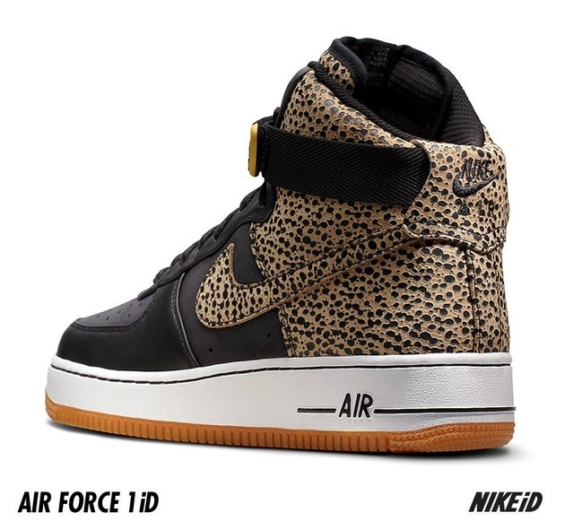 Nike iD – Opcja Safari w Air Force 1