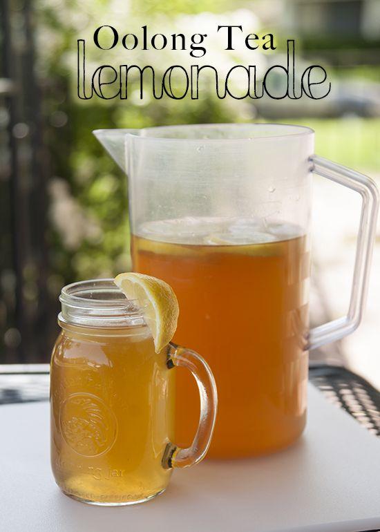 Oolong Tea Lemonade