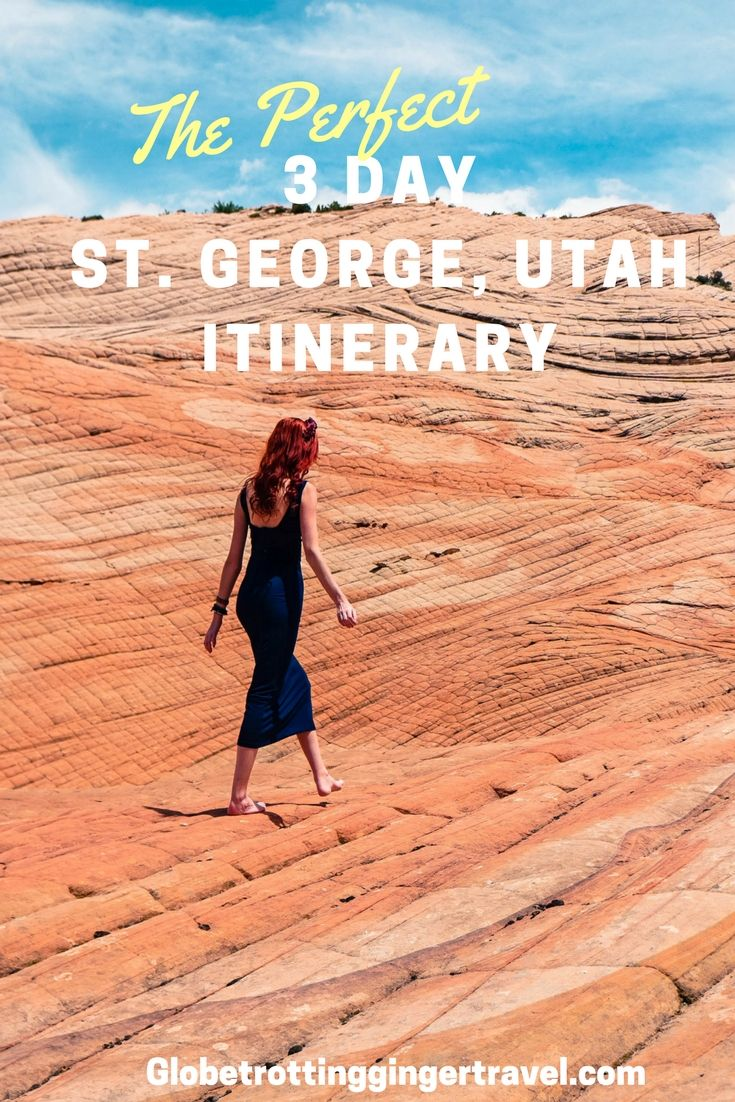 The Perfect 3 Day Utah Itinerary pin