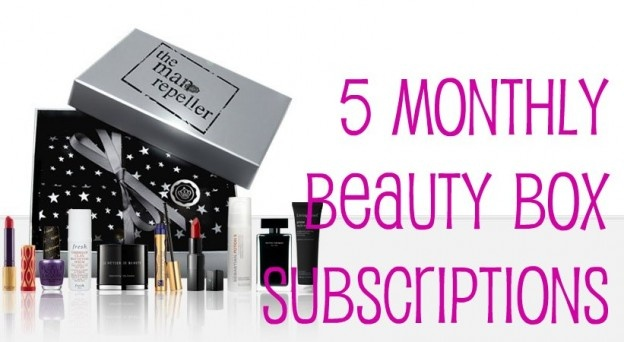 5 Monthly Beauty Box Subscriptions