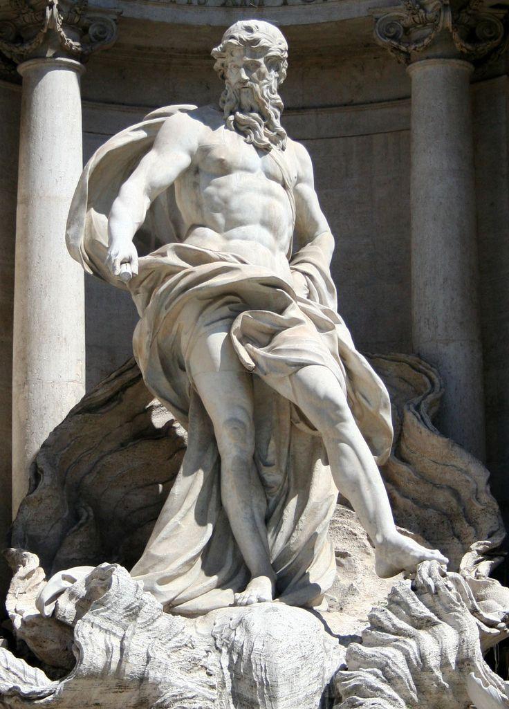 BERNINI Gian Lorenzo - Italian (Naples 1598-1680 Rome) ~ Oceanus at the Trevi Fountain