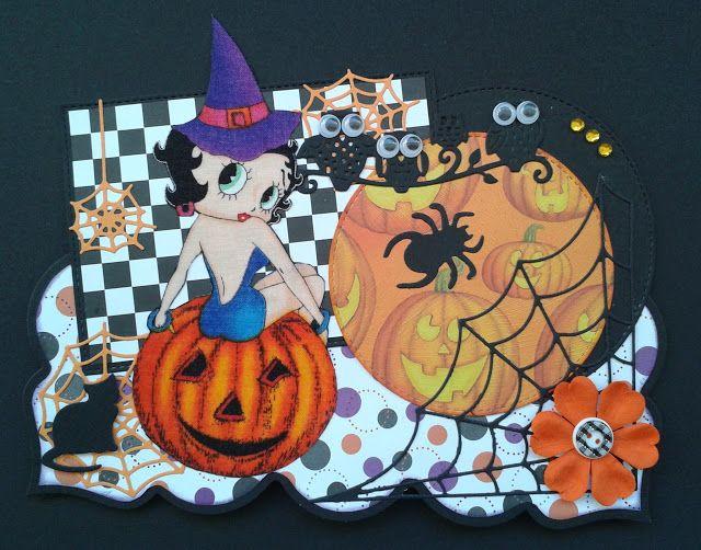 Les cartes de Blueberry: Ma sorcière d'Halloween