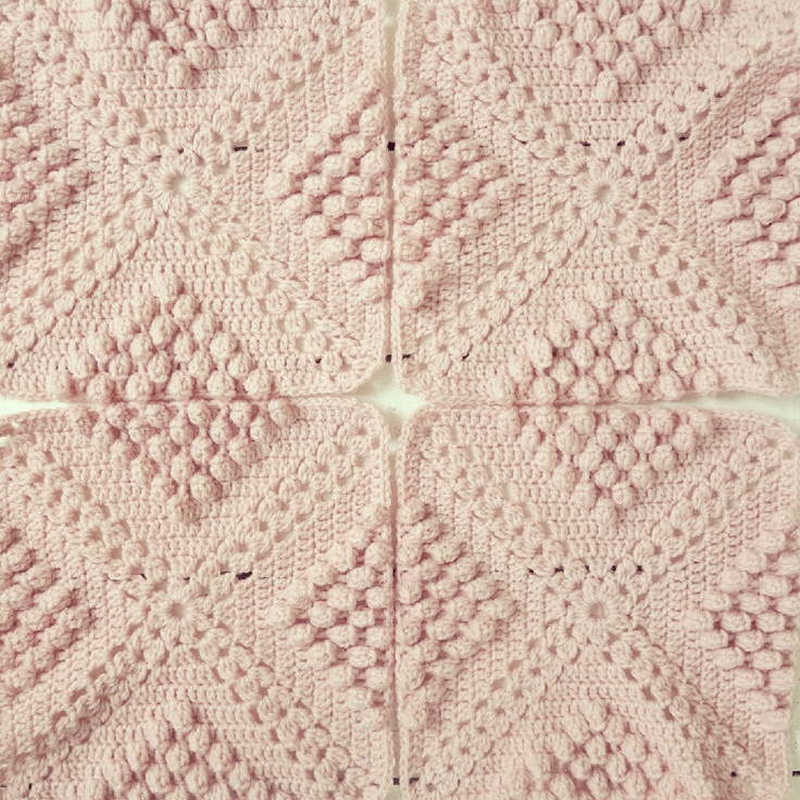 Knit Popcorn Stitch Baby Blanket : 53 best Afghans with popcorn images on Pinterest Crochet blankets, Crochet ...