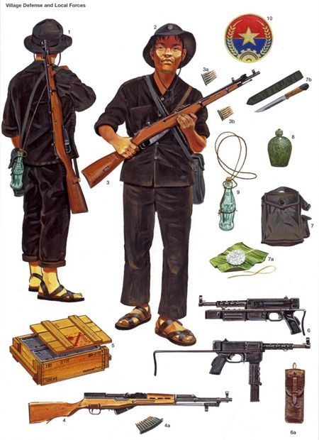 Viet Cong local force - Google Search