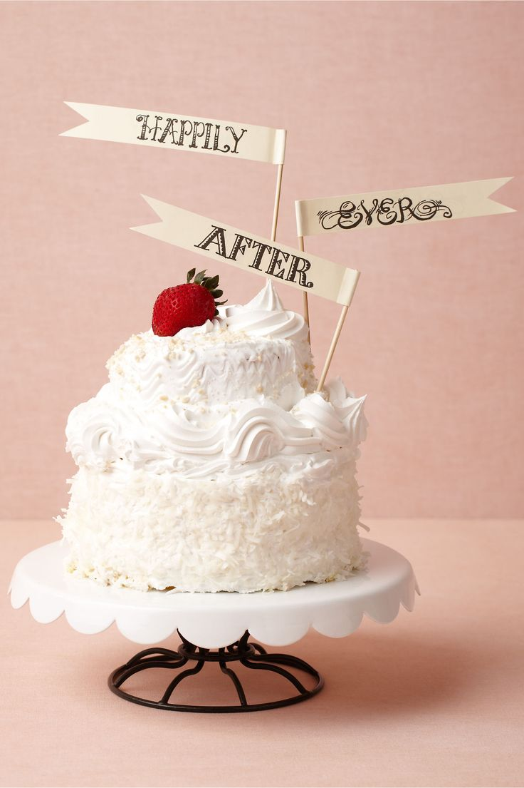 Wedding Cake Toppers � DIY Ideas
