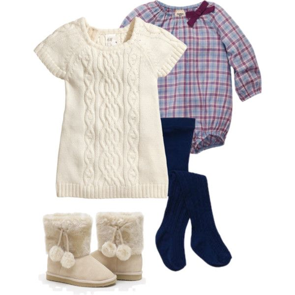 """Baby Girl Holiday Outfit"" by soundtrak7 on Polyvore"