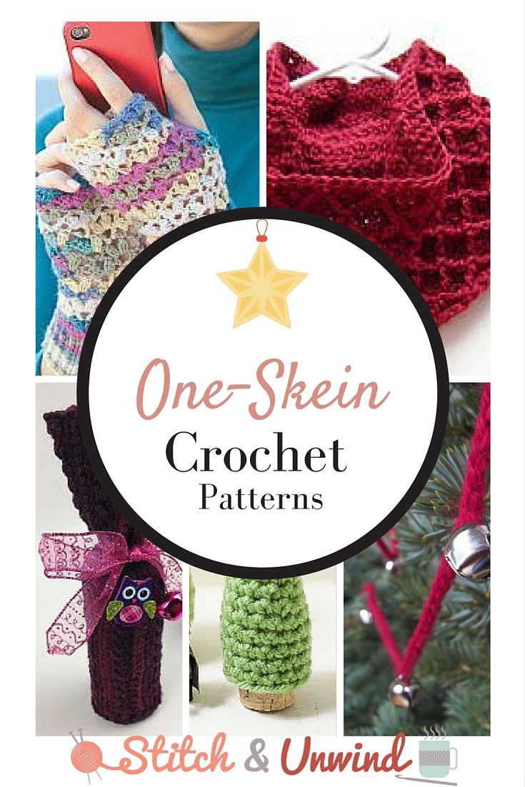 Tis' (Almost) The Season: Decorating & Gift Giving One-Skein Crochet Projects