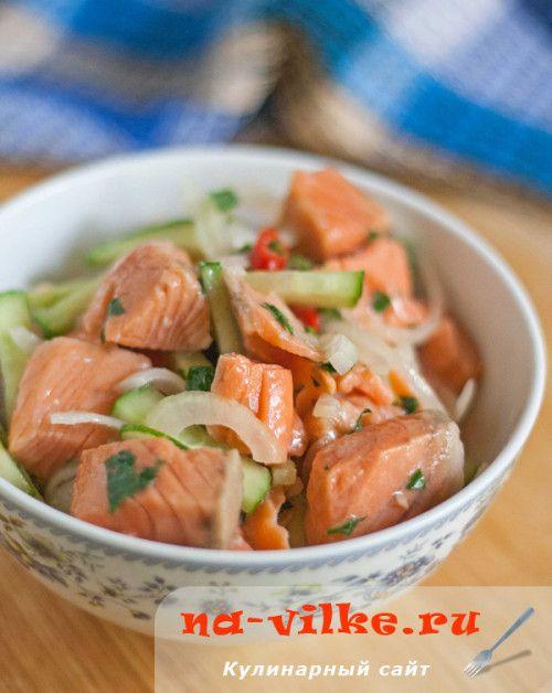 Хе из красной рыбы по-корейски - его хочется есть и есть, не отрываясь…