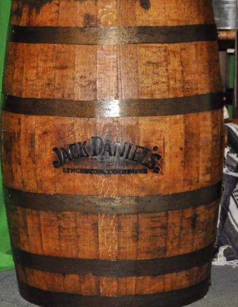 Jack Daniels Whiskey Barrels  This Would Make A Cool Night Table