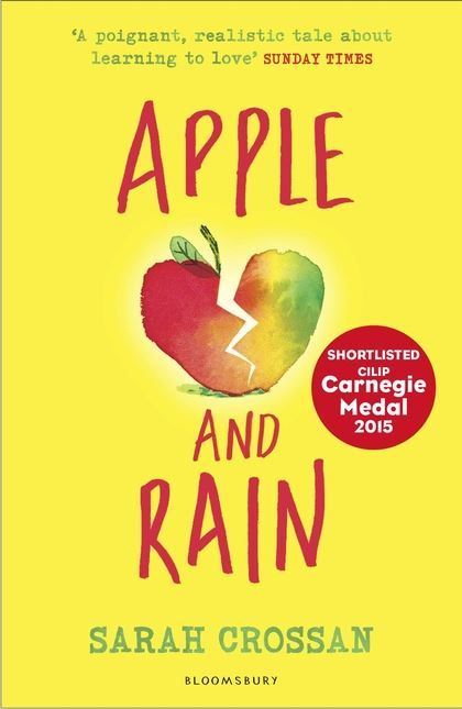 Apple and Rain by Sarah Crossan. When Apple's mother returns after 11 years of absence, Apple feels whole again. She will have an answer to her burning question – why did you go? And she will have someone who understands what it means to be a teenager – unlike Nana. But her mother's homecoming is bitter sweet, and Apple wonders who is really looking after whom. It's only when Apple meets someone more lost than she is, that she begins to see things as they really are.