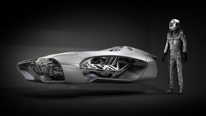 3Dプリントで製造する未来のクルマ「Genesis」 « WIRED.jp
