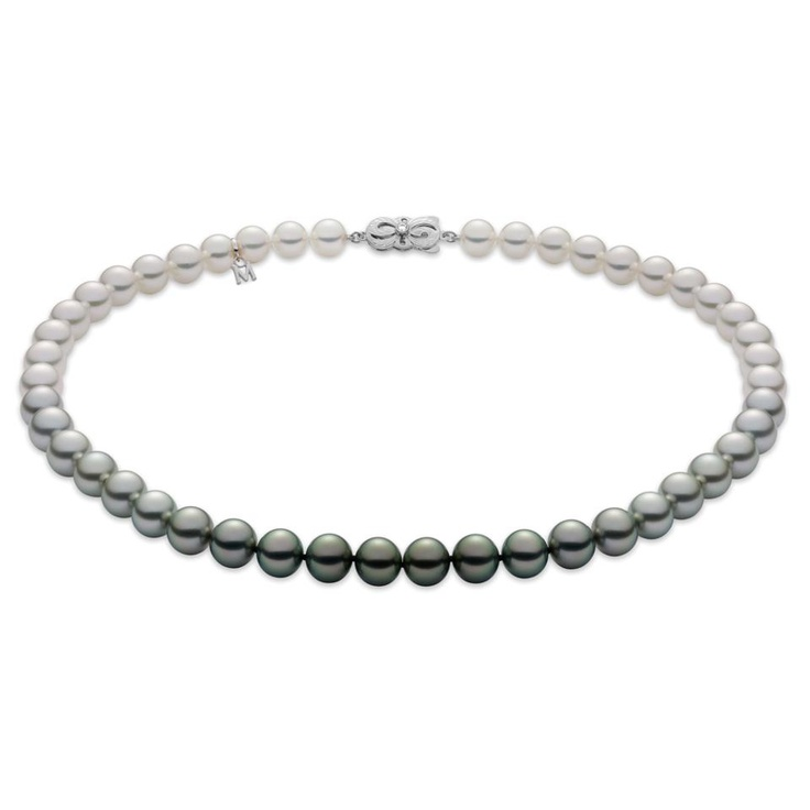 Mikimoto Tahitian Pearl Necklace: 63 Best Images About Mikimoto On Pinterest