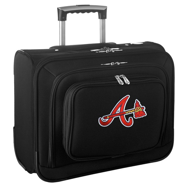 MLB Atlanta Braves Wheeled Laptop Overnighter