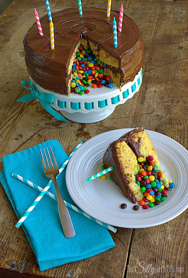 Surprise Inside Pinata Cake, step by step tutorial on how to make a big WOW at your next Birthday party! Extremely easy and fun! #GetYourBettyOn