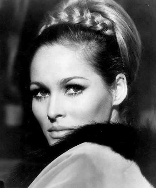 Bond girl Ursula Andress was born in Ostermundigen, Switzerland in 1936.