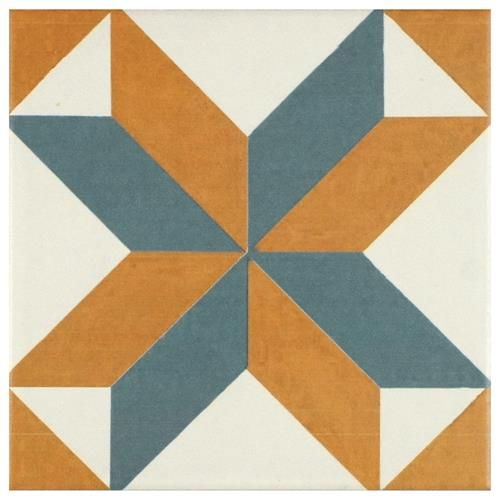 Revival Pattern Ceramic Wall and Floor Tile