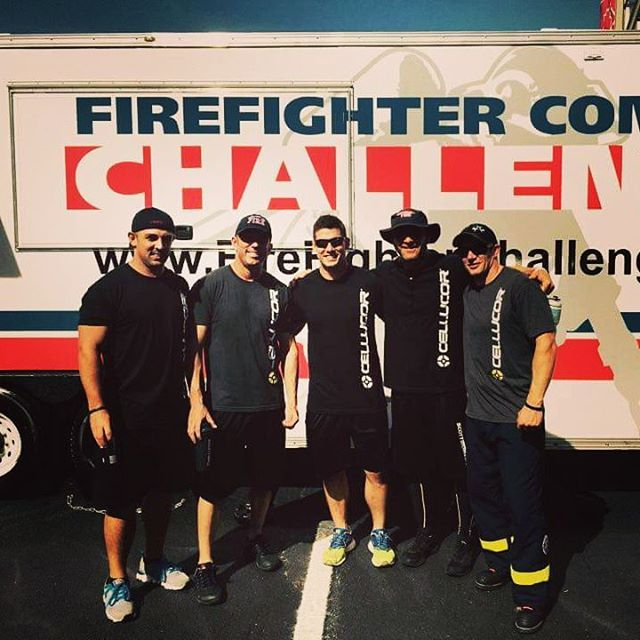 AFA guys reppn' some of their Cellucor gear last week at the World Firefighter Combat Challenge.  Visit http://www.cellucor.com/publicsafety. Up to 40% off for public safety professionals!