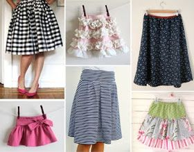 How About Orange: Various skirt tutorials