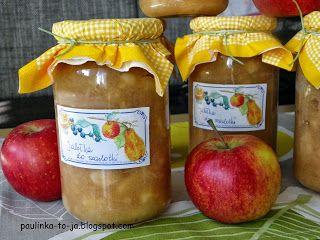 Smak mojej kuchni...: Jabłka do szarlotki na zimę