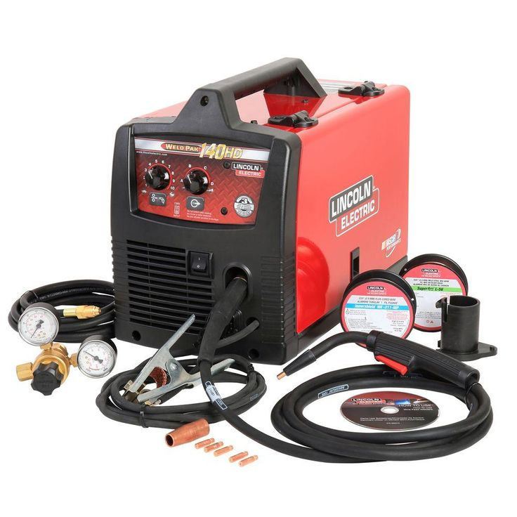 Lincoln Electric Weld Pak 140 HD Wire-Feed Welder-K2514-1 - The Home Depot